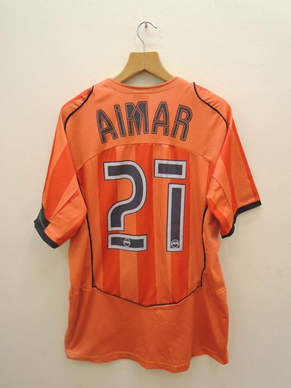 Vintage Valencia CF Pablo Aimar 27 Football Jersey