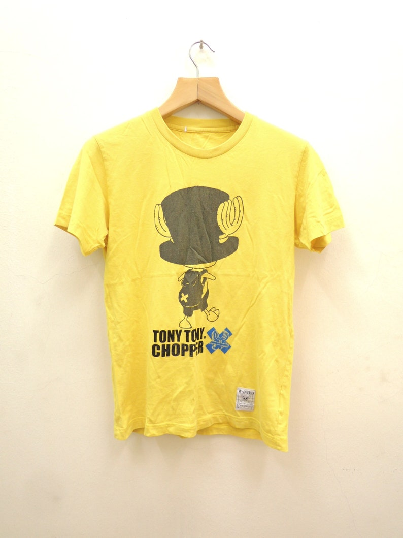 Vintage One Piece Tony Tony Chopper Anime Shirt Manga Cartoon Etsy