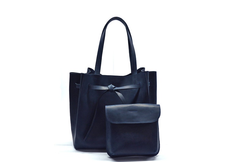 Women Leather handbag Handmade shopper bag Leather tote bag  e406c0652cf62