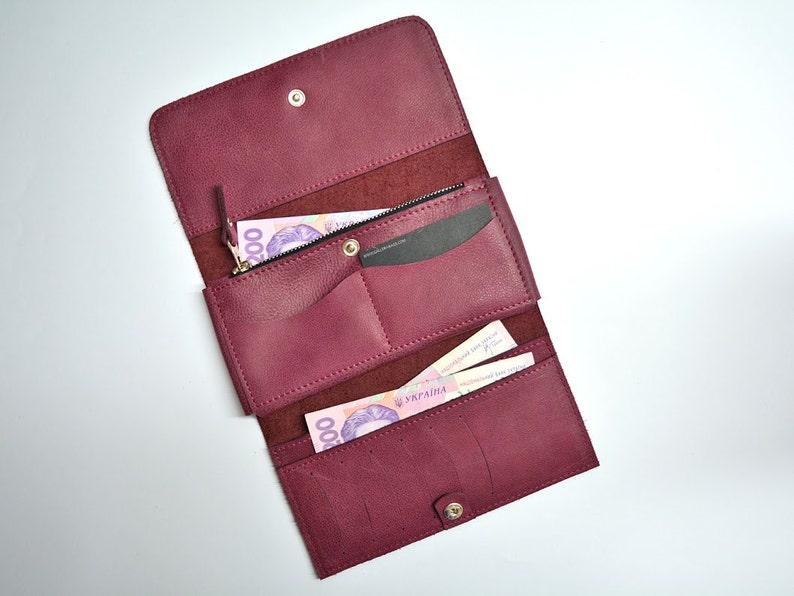 c8f601afed529 Portfele skórzane damskie Portfel skórzany duży portfel ze