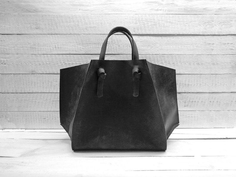 4c930fa8db07 Leather tote bag Leather handbag women leather bag Leather