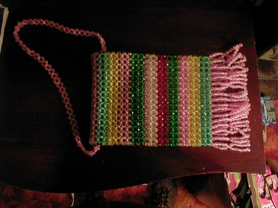 1950s-1960s Signed Made in Italy beaded bag - image 3