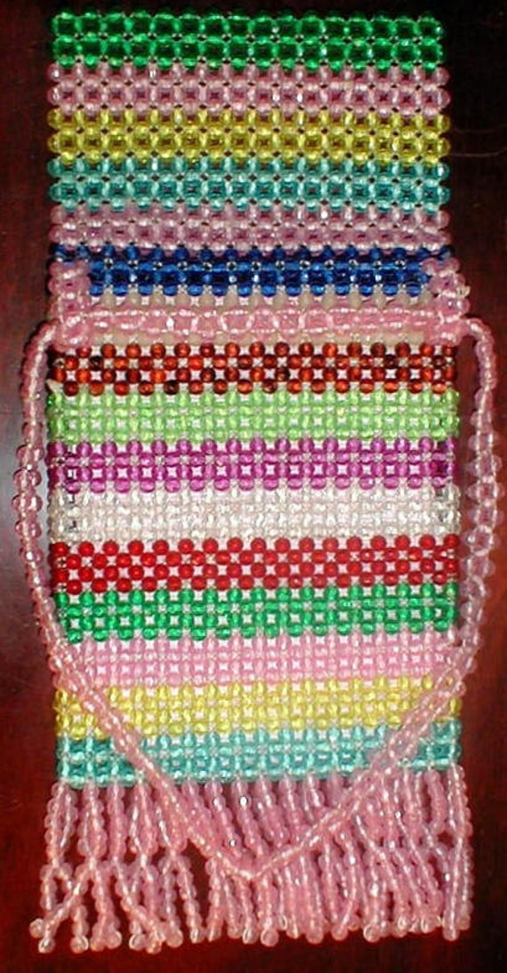 1950s-1960s Signed Made in Italy beaded bag - image 2