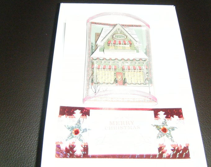 Handmade Decoupage Christmas Card