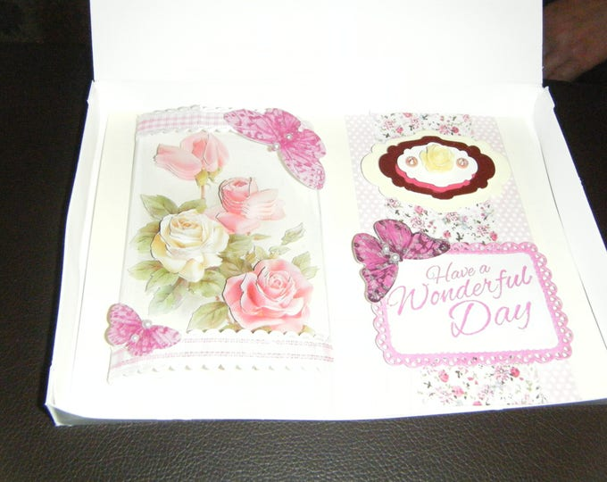 Handmade Decoupage Card
