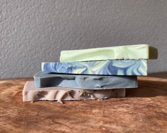 Soap Sample Package - Fruit soaps - Eco soaps - Vegan soaps - Wedding favors - Sustainable Gift - Zero Waste - Handmade