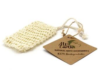 Sisal Soap Bag - Shower Soap Bag - No Waste - Vegan - Christmas Gift