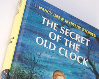 1 The Secret of the Old Clock  Nancy Drew Mystery Stories by Carolyn Keene 1950s Detective Stories for Girls Mystery Series