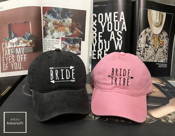 854eed2ab7d Bride   Bride tribe Dad Cap Bride Hat bachelorette party