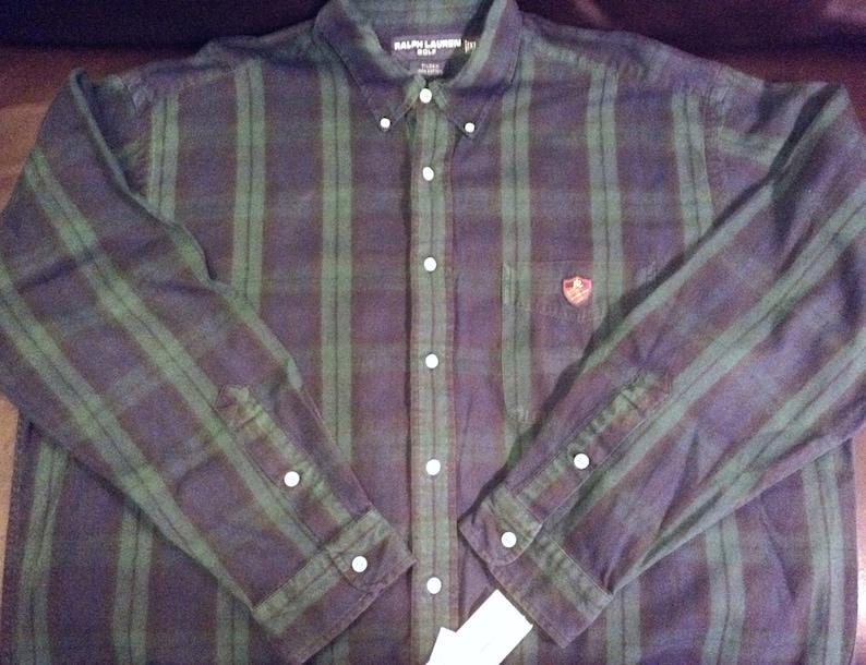 9e57837e6bc5f XL Polo Ralph Lauren golf vintage tilden oxford cloth shirt in