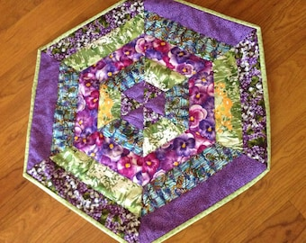 Spring Quilted Table Mat