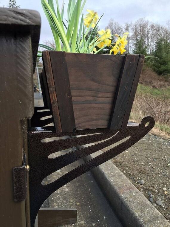 Diy Kulshan Balkon Geländer Tisch Halterung Set Für Deck Bars Arbeitsplatten Pflanzerkasten Und Vieles Mehr Zwei Schritt Einfache Installation