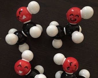 Alcohol Molecule Ornament