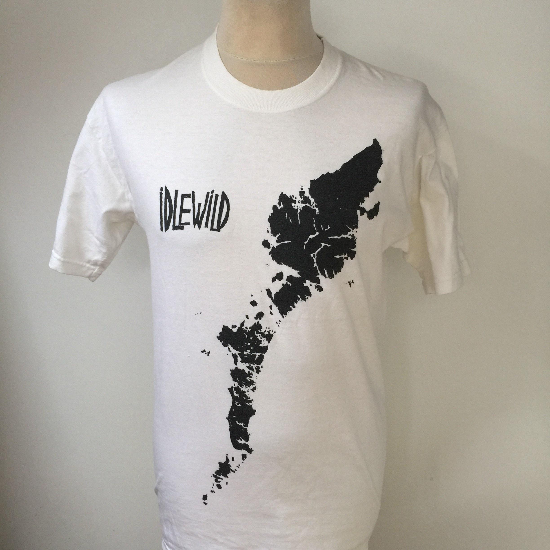 Moyenne de des Idlewild T Shirt vintage des de années 1990 409440