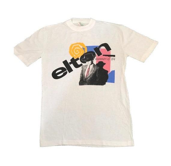 Elton John Summer 1984 Vintage Tour T Shirt Large