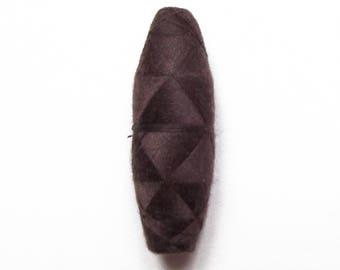 Vintage Brown 100 cotton yarn spool / top quality