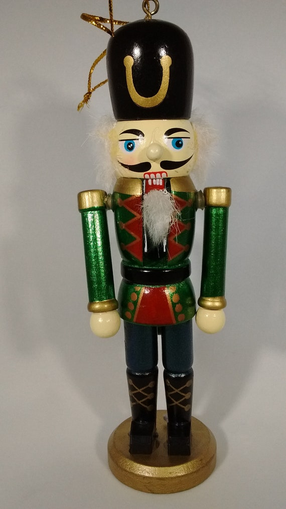 Wood Nutcracker Toy Soldier Atcm 93120 Christmas Ornament Decor Collectible Gift Gift Wrap Adornment Wreath Making Displays