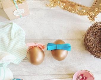 Handmade Gender Reveal ∙ Announcement Egg ∙ Pregnancy Announcement ∙ Gender Reveal Party ∙ Baby Shower