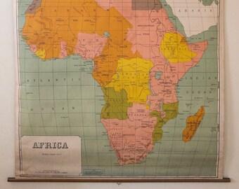 Authentic World Map.Authentic World Map Etsy