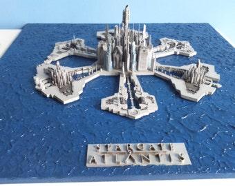 Stargate Atlantis city model