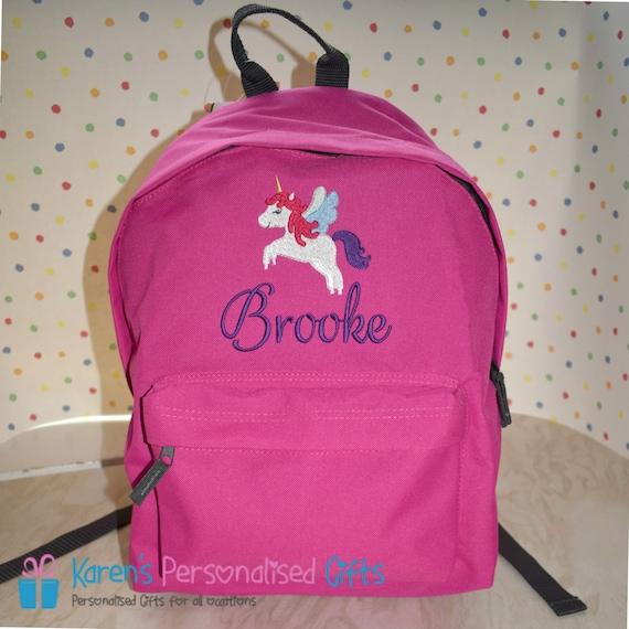 Personalized Unicorn Backpack