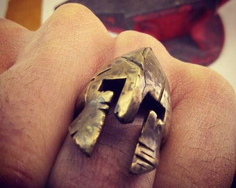 bronze spartan ring