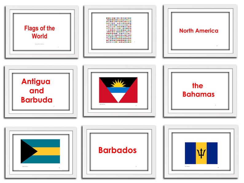 photograph regarding Printable Country Flags known as Text Flags, understanding for Preschools, infants. Printable A4 Flash Playing cards. Flags of the environment inside of french. Complete preset NORTH The usa flags.
