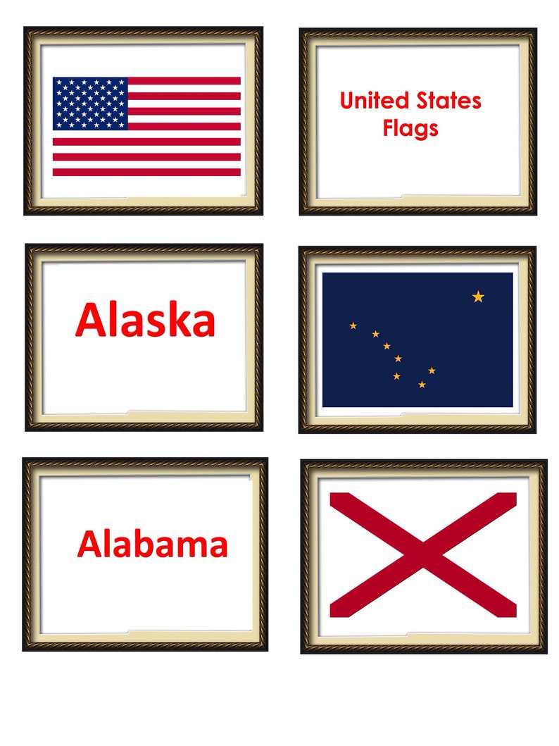 photograph relating to 50 States Flash Cards Printable titled A4 Flash Playing cards. Printable Flags of the Earth. United Claims Flags Flash Playing cards. Laminated Flash Playing cards. Geography Flash Playing cards. Place flags.