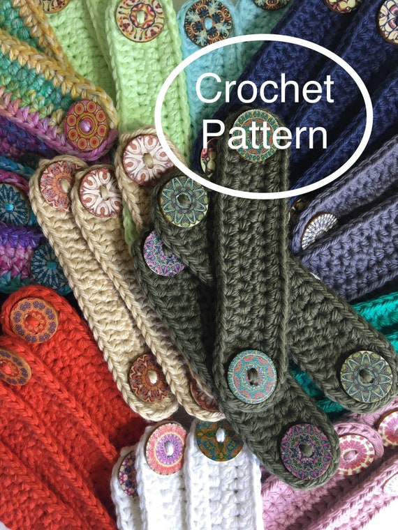 Crochet Ear Saver Pattern