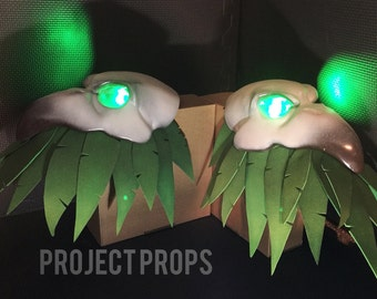 3D printed Reaper Shoulders for Nevermore/Plague Doctor