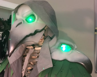 3D printed Reaper Mask from Overwatch - Nevermore or Plague Doctor