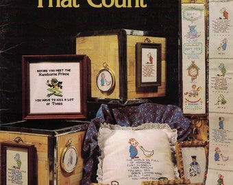 Designs That Count - Cross Stitch Samplers-Designs By Gloria and Pat Cross Stitch Pattern Booklet -Multiple Patterns