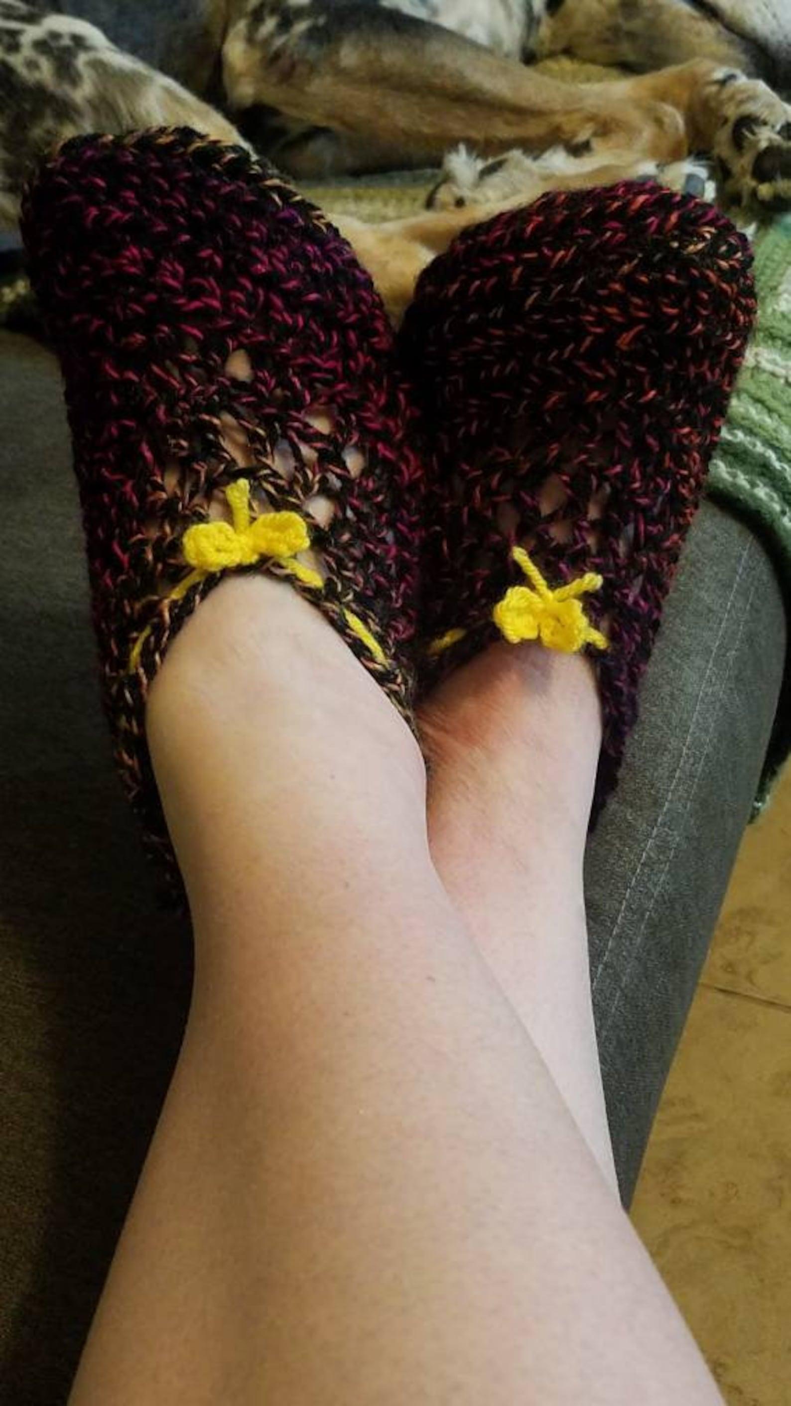 house slippers/ ballet slippers