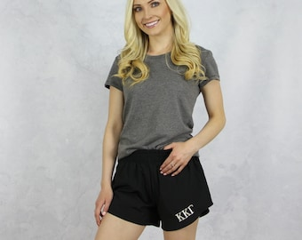 Kappa Kappa Gamma Shorts in Black