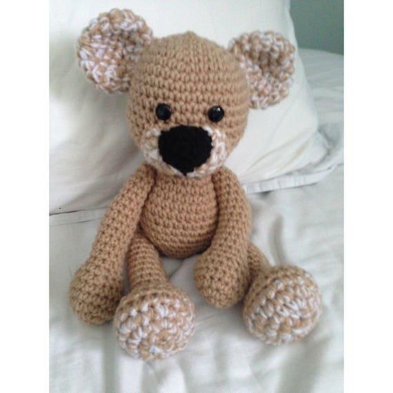 Häkeln Sie Amigurumi Teddybär Muster Instant Download   Etsy