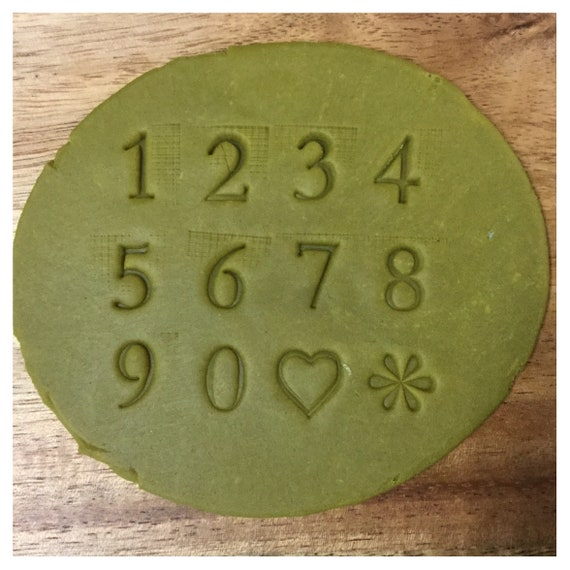 Number Stamp Pottery Tools Makers Mark Identify Your Work Etsy