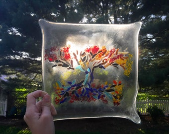Tree Of Life Glass Panel