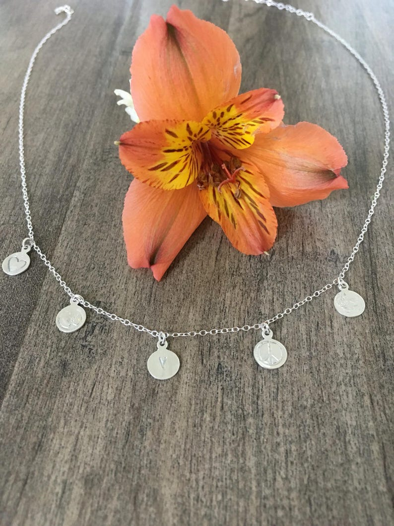 Why im vegan charm necklace