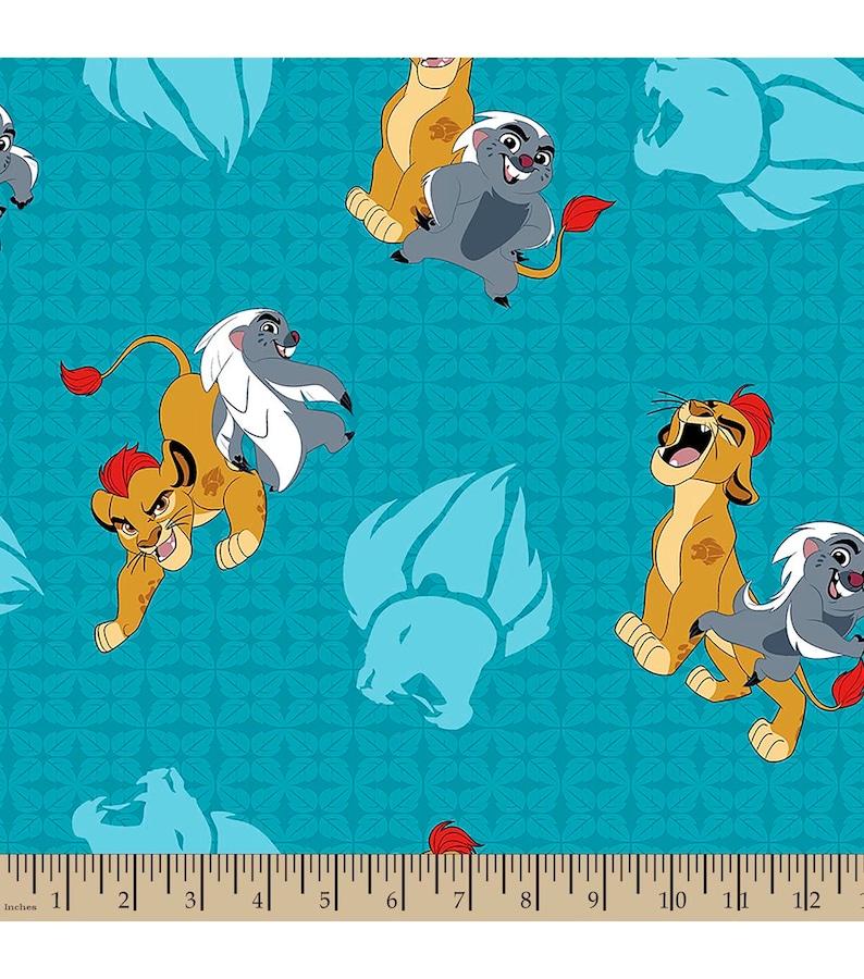 100/% Cotton Patchwork Fabric Springs Creative Disney Lion Guard Wild Adventures