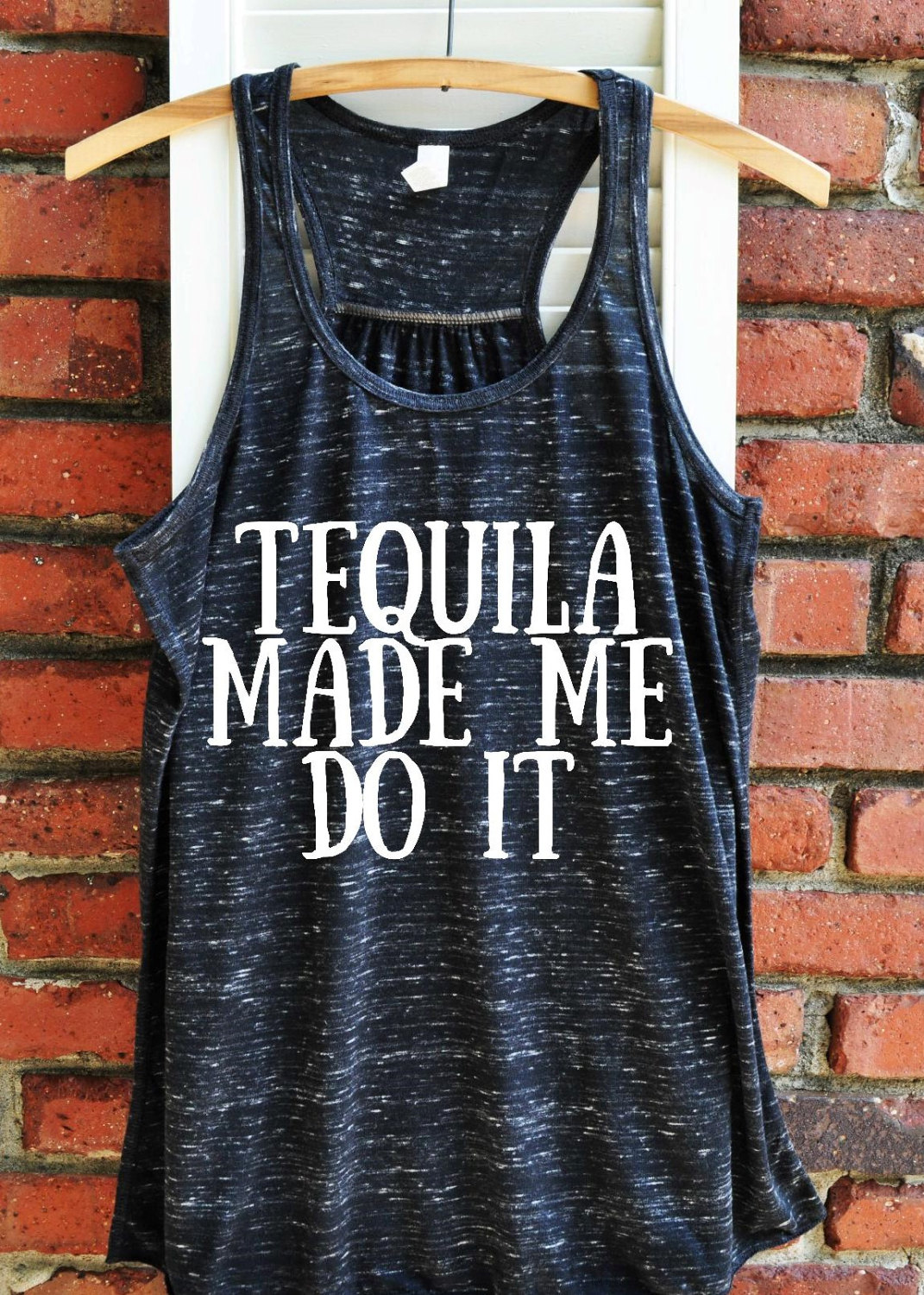 5b81d24932 Tequila made me do it Women's Tank Top Tequila lover | Etsy