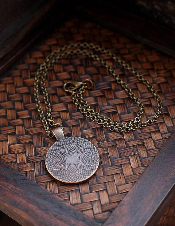 Fallout Strahlung Hazard Symbol Halskette, radioaktive Chemie Halskette, Physik Sci Fi Wissenschaft Halskette, Herren Halskette Schmuck für Männer