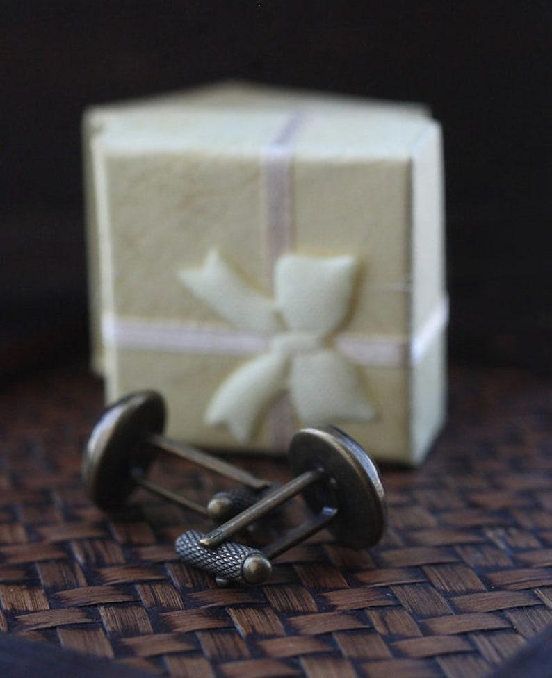 Musician Cufflink wedding cufflinks Record player cuff links phonograph cuff links Gramophone Player cuff links Music Cufflinks
