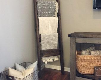 Blanket Ladder Etsy