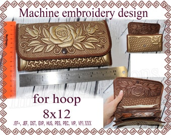 Machine embroidery designs in the hoop | Etsy
