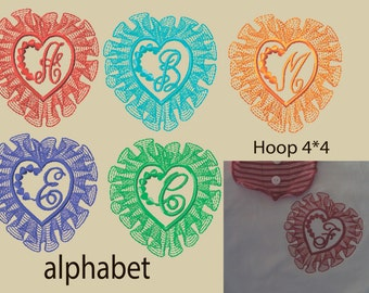 machine embroidery designs fsl monogram fonts embroidery etsy