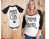 Mommy and Me Baseball Tee...