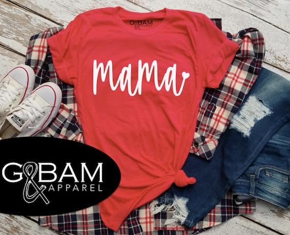 Mama T-Shirt / Mom shirt / I'm pregnant / Valentine's Day shirt