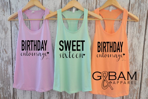 Custom Birthday Shirt or Tank // Ladies Birthday shirt // Any age // Customizable Birthday //
