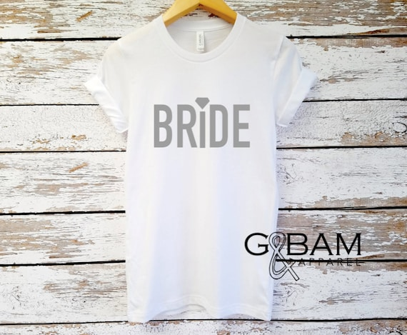 Boyfriend T-shirt / Mrs. Shirt / Bride Shirt / Future Mrs.