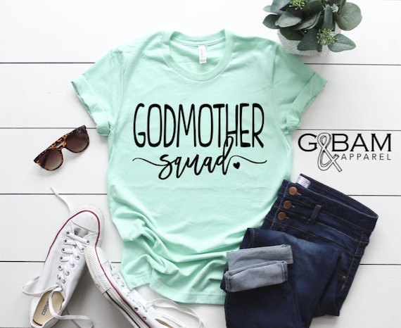 Godmother SQUAD /Godmother tee/ You're a Godmother / new Godmother gift / future auntie / we're Pregnant